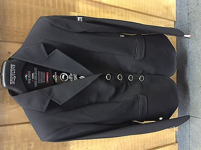 Equiline women's X cool gait Competition jacket black - size 8