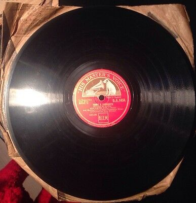 His Masters Voice 78rpm Gramophone Record X2