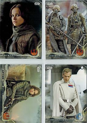 STAR WARS Rogue One: Lot 6 Gray Squad Parallel Cards /100, # 1-10-18-41-79-83