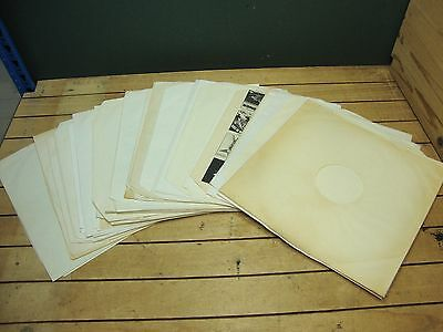 """50 x Various Paper Sleeves for Vinyl Records * LP's & 12"""""""