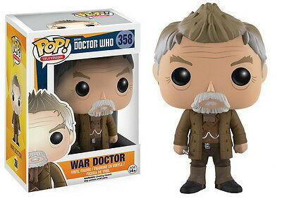 DOCTOR WHO POP Vinyl Figur WAR DOCTOR 10cm NEU+OVP Funko