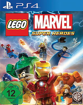LEGO Marvel Super Heroes PS4 (Sony PlayStation 4) Versiegelt NEU OVP