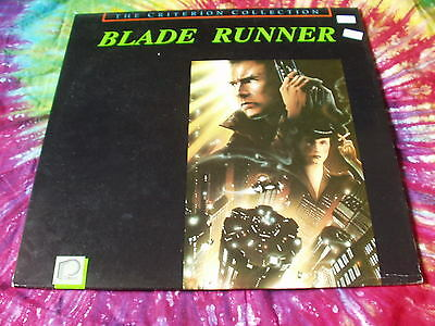 BLADE RUNNER - Criterion Collection laserdisc Unique Extras
