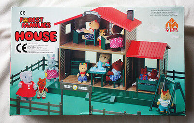 House Of Forest Families (Calico Critters, Sylvanian, Etc). Vhtf, Brand New Box!