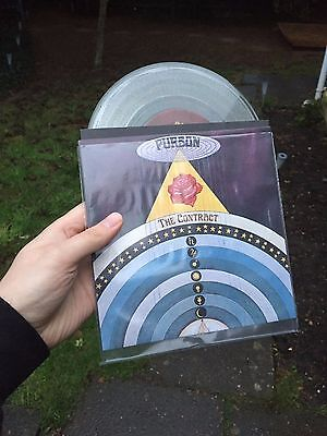 "Purson - The Contract CLEAR VINYL 7"" Single Rise Above 25th Anniversary"
