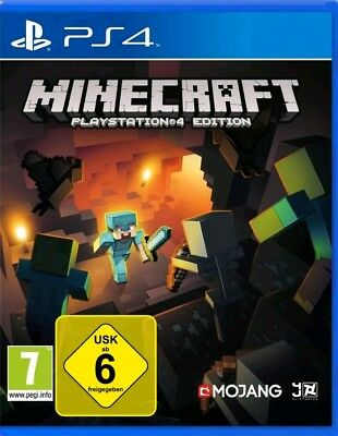 Minecraft PS4 Deutsch (Sony PlayStation 4) NEUWARE