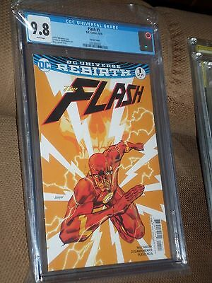 Flash #1 Rebirth Variant CGC 9.8 1st Print Sold out