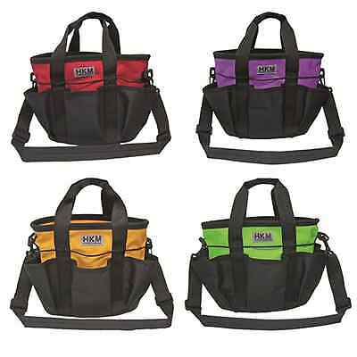 SALE! HKM Pro Team Grooming Bags With Pockets & Padded Shoulder Strap