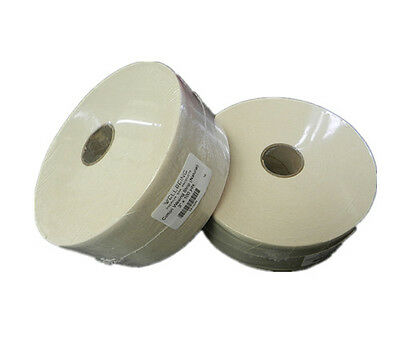"""100% Cotton Waxing Wax Strip Roll 3"""" x 100 Yards (Bleached / Natural)"""