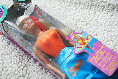 Sindy Sea Star, 1999. Inflatable Skirt Doll Floats (Mermaid) Brand New Old Stock