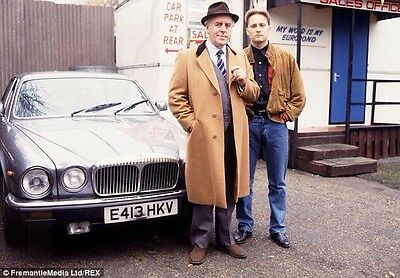 Dvd  Minder Tv Show Film Crew Jacket / Minder Car Owners & Location Sheet May Px
