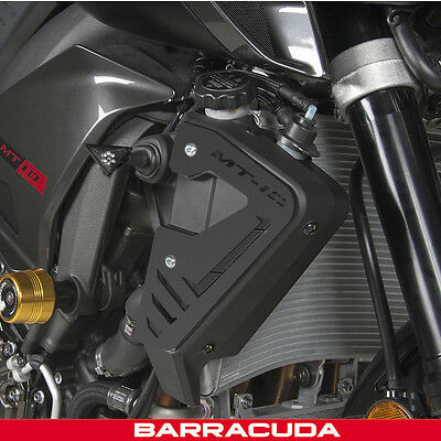 Barracuda - Yamaha MT-10 Air Control Covers - Alloy Black - Pair