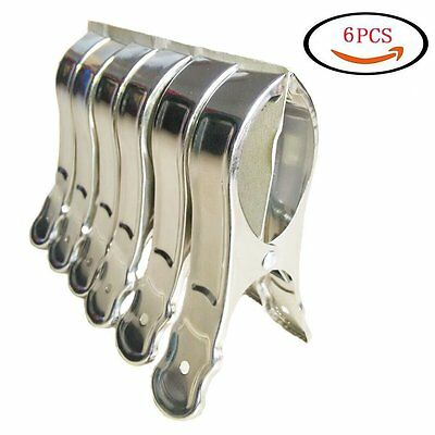 Stainless Steel Beach Bath Towel Clips for Beach Chair or Pool Loungers on Your
