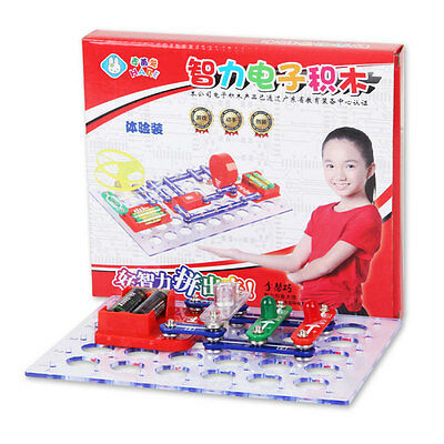 Smart Electronic Kit Building Blocks Circuits Educational Science Toys