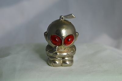 Vintage Chrome  Ufo Space Man Alien Cigarette Lighter