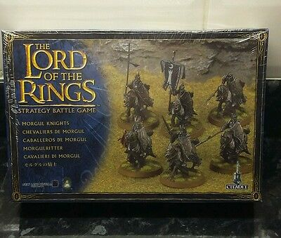 Games Workshop - Lord Of The Rings Morgul Knights Citadel Miniatures New Sealed