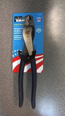 """NEW Ideal 30-429 Wireman 9-1/2"""" Linesman Pliers"""