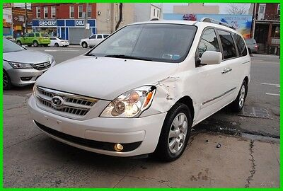 2007 Hyundai Entourage Limited 77,000 Miles Repairable Rebuildable Salvage Wrecked Runs Drives EZ Project Needs Fix Save Big