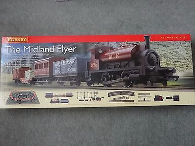 Hornby R1115 The Midland Flyer 00 Gauge Train Set Boxed Brand New & Unplayed