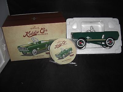 Hallmark 1965 Ford Mustang Repaint-Kiddie Car Classics Limited Edition Pedal Car