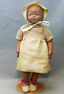 "Vintage Martha Chase 13"" Vinyl Coated Latex Doll"