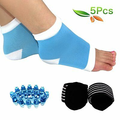 HLYOON H02 Plantar Fasciitis, Arch, Heel & Ankle Support Kit -5PCS Foot Massager