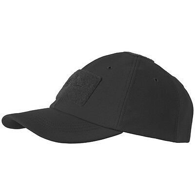 Helikon Tactical Baseball Winter Cap Police Patrol Security Hat Shark Skin Black
