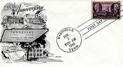 US FDC #941 Tennessee, Artmaster (3850)