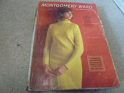 Vintage Montgomery Ward 1967 Fall and Winter Catalog Beatle Fashions