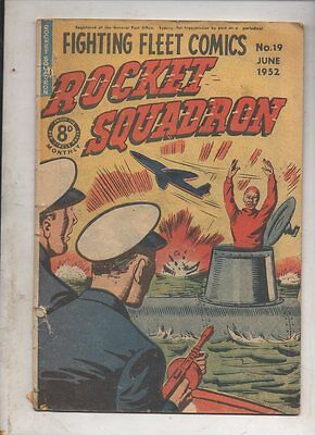 ROCKET SQUADRON  No 19   VG   CONDITION 1952