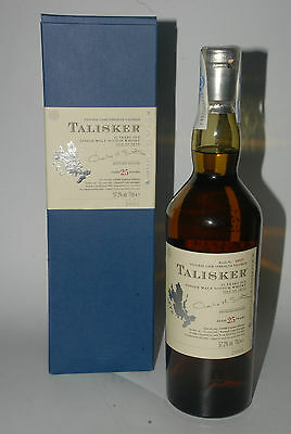 WHISKY TALISKER SINGLE MALT 25 YEARS OLD LIMITED EDITION 2005 CASK STRENGTH 70cl