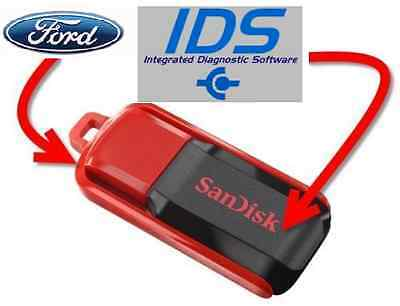 LATEST! FORD IDS 101.04 + C81 Diagnostic Software! =On USB Drive=