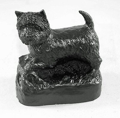 West Highland Terrier Westie Coal Model - Hand Crafted - 505