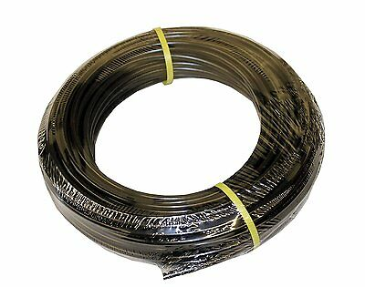 "ATP Value-Tube LDPE Plastic Tubing, Black, 11/64"" ID x 1/4"" OD, 100 feet Length"