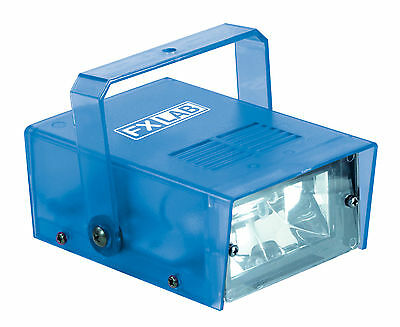 New Blue Strobe Stroboscope Adjustable Flashing Strobe Disco Light