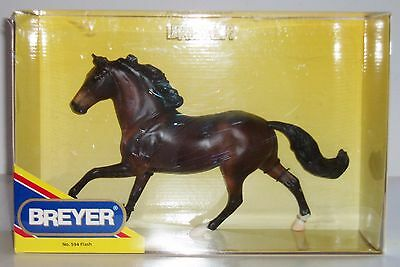 Breyer Traditional Full Size Flash! - #594 Bay Horse (NIB)
