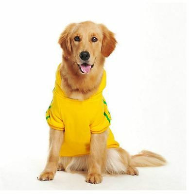 Large Extra Big Dog Clothes Pet Puppy Hoodie Dog Coat Clothing Sweater 3XL-9XL