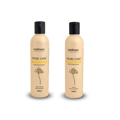 NEW Melrose Psoriasis Psori Shampoo & Conditioner with Chamomile For Itchy Dry S