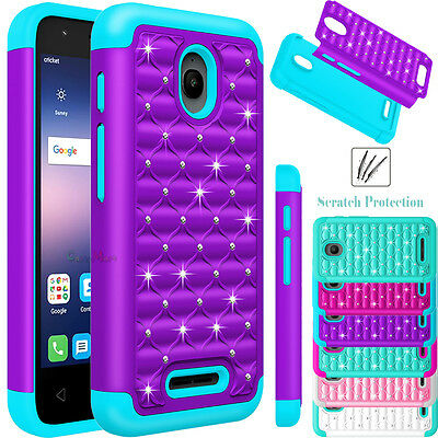 For Alcatel Dawn/ Ideal Phone Case Hybrid Shockproof Rubber Armor Silicone Cover
