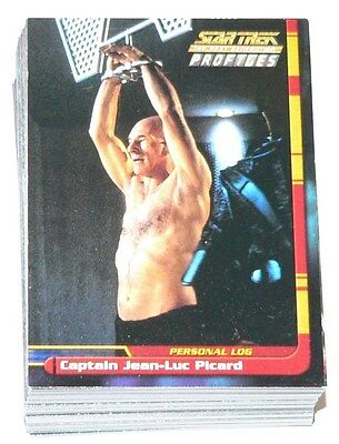 Star Trek TNG The Next Generation Profiles by Skybox in 2000. 82 card base set