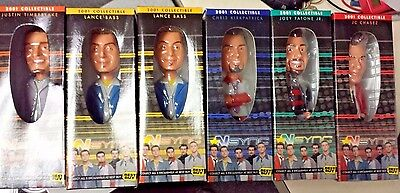 Complete Set of 5 NSYNC 2001 Collectibles +extra Lance Bass! (AG)