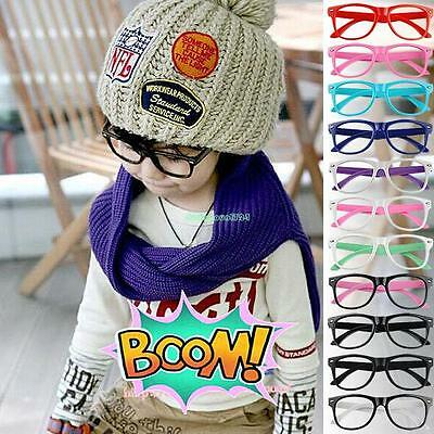 Bright Colorful Fashion Cartoon Cute Round Spectacle Frames For Children Kids B