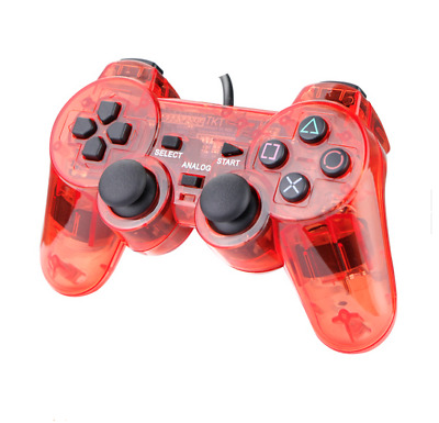 Vibrate Dual Shock Controller For The Playstation 2 - Brand New - Ps1 & Ps2
