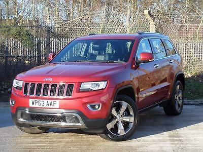 Jeep Grand Cherokee 3.0 Crd Limited Plus 5Dr Auto - Red