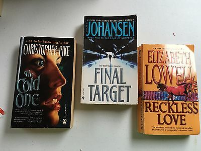 The Cold One-Final Target-Reckless Love-(3) Books Free Shipping