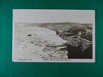 Early 1900's Victorian Postcard Roses Series Panorama From Split Falls, Airey's