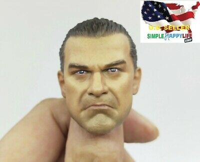 "1//6 Punisher Head Sculpt Jon Bernthal For 12/"" Hot Toys Male Figure USA IN STOCK"