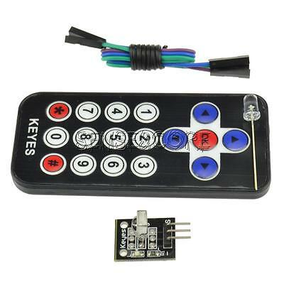 HX1838 VS1838 Universal Infrared Remote Control Receiver Module Code IR Kit Set