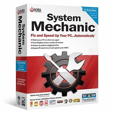 IOLO System Mechanic 1 Year (Download ) Version 16.1