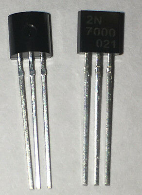 20PCS or 100pcs - 2N7000 TO-92 N - CHANNEL 60V 0.2A Transistor